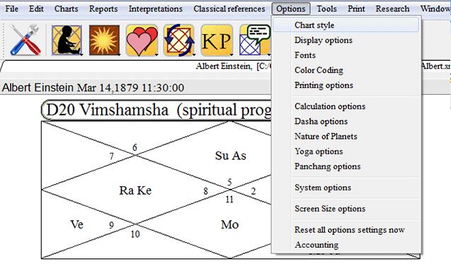 Reason 6   Parashara's Light